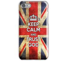 Religious Christian iPhone 6s Case Cover British Flag iPhone Case/Skin