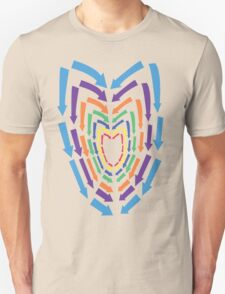 (Arrows) Colourful Heart T-Shirt