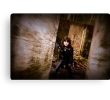 Amongst the Ruin Canvas Print