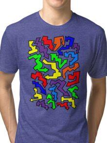 (Arrows) Colourful Tri-blend T-Shirt