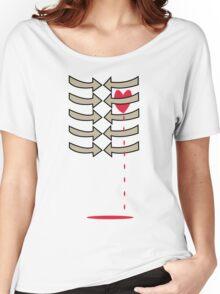 (Arrows) Dripping Heart Women's Relaxed Fit T-Shirt