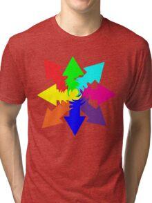 (Arrows) Swirl Tri-blend T-Shirt