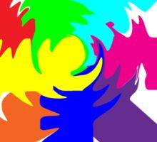 (Arrows) Swirl Sticker