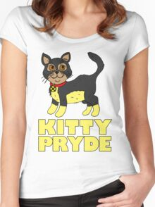 KITTY PRYDE Women's Fitted Scoop T-Shirt