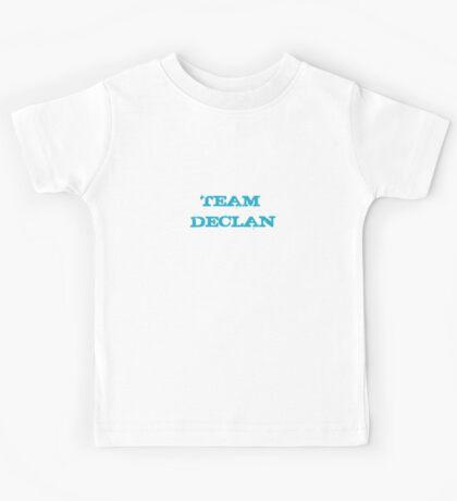 Go Team Declan!! Kids Tee