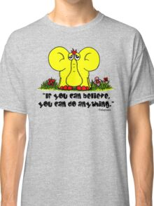 Yellephant Quote Classic T-Shirt