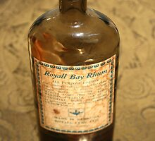 "Day 62 | 365 Day Creative Project  ""Antique Bottle Royall Bay Rhum"" by Robyn Williams"