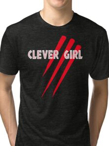 Clever Girl Tri-blend T-Shirt