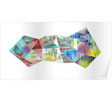 Colored Geometry Poster