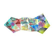 Colored Geometry Photographic Print