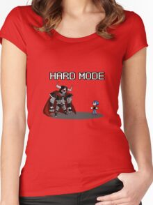 Hard Mode Women's Fitted Scoop T-Shirt
