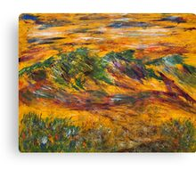 MOUNTAIN ABSTRACT Canvas Print