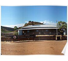 Barrow Creek Telegraph Station .. Poster