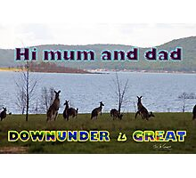 Downunder is Great Photographic Print