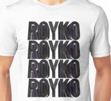 Royko Stacked Unisex T-Shirt
