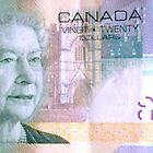 Canadian $20 by The Creative Minds