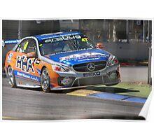 2013 Clipsal 500 Day 2 V8 Supercars Practise Poster