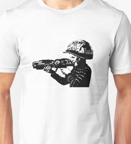 Kids with Guns Unisex T-Shirt