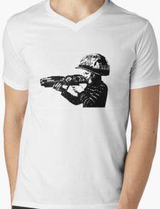 Kids with Guns Mens V-Neck T-Shirt