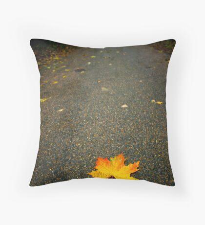 Autumn Leaf,Bury St Edmunds Throw Pillow