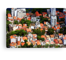 Rio Rooftops Canvas Print