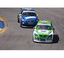 2013 Clipsal 500 Day 2 Aussie Cars Photographic Print