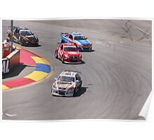 2013 Clipsal 500 Day 2 Aussie Cars Poster