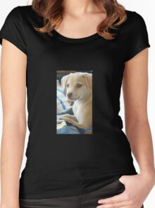 Honey Bun♡ Women's Fitted Scoop T-Shirt