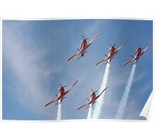 2013 Clipsal 500 Day 2 RAAF Roulettes Poster