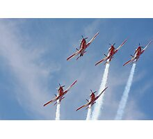 2013 Clipsal 500 Day 2 RAAF Roulettes Photographic Print