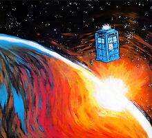 Time Travel Tardis by jerasky