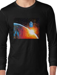 Time Travel Tardis Long Sleeve T-Shirt