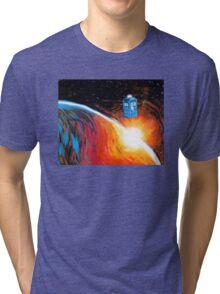 Time Travel Tardis Tri-blend T-Shirt