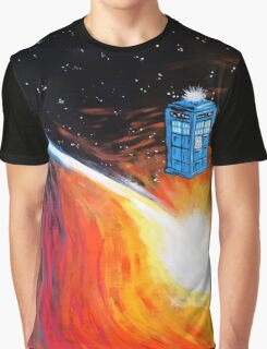 Time Travel Tardis Graphic T-Shirt