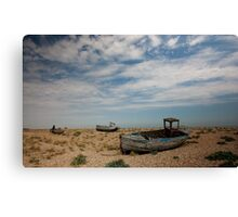 Dungeness Boats Canvas Print