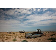 Dungeness Boats Photographic Print