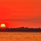Blazing Mackay Sunset by Higginsstormcha