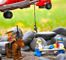 Lego Rescue by framedProject