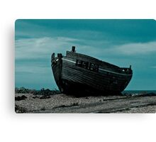 Dungeness Boat Canvas Print
