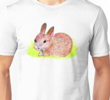 Bunny in the grass Unisex T-Shirt