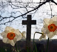 Easter Daffodills by Ludwig Wagner