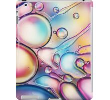 Rainbow Bubble Splash iPad Case/Skin