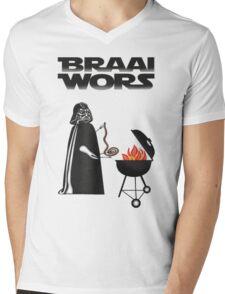 BRAAI WORS Mens V-Neck T-Shirt