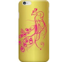 Punk Peacock iPhone Case/Skin