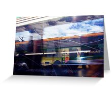 Train 04 03 13 Seven - The Migraine Greeting Card
