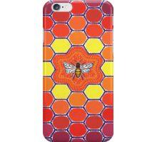 Bee Sacred Geometry iPhone Case/Skin