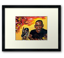 BigBoy with Halfrida Framed Print