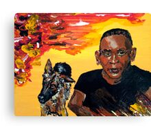 BigBoy with Halfrida Canvas Print