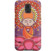 Jizo Meditating upon a Ruby Lotus Samsung Galaxy Case/Skin