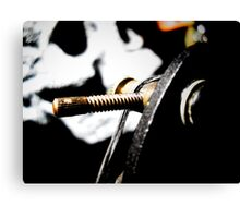 Contact Screw Canvas Print